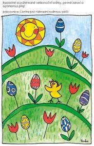 přání Velikonoce
